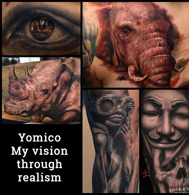 Yomico - My vision through realism - deposit